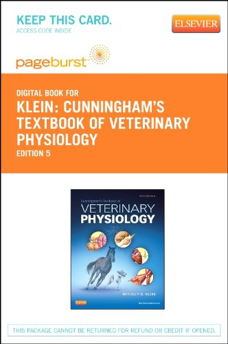 Textbook of Veterinary Physiology - Elsevier eBook on VitalSource (Retail Access Card), 5e