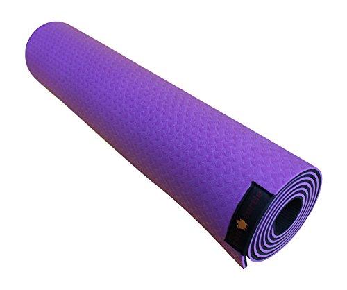 ZEN TURTLE Focus Eco Yoga Mat - Non-Slip and Extra Grip - 1/4