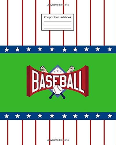 Composition Notebook: Baseball | 8