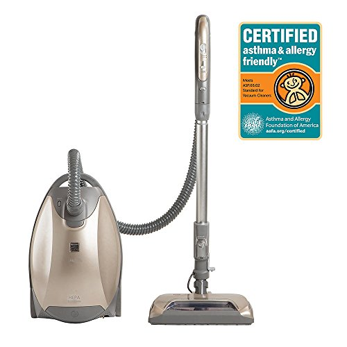 Kenmore Elite Canister Vacuum Cleaner with Ultra Plush™ nozzle – Champagne/Gray