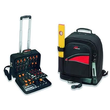 PLANO PC120E - Maleta porta herramientas profesional en EVA + Lusavouga - Mochila Herramientas Grande 542T
