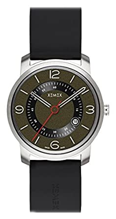 XEMEX Armbanduhr PICCADILLY QUARTZ Ref. 880.23 3 HANDS DATE