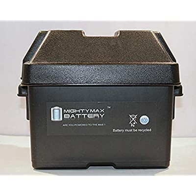 Mighty Max Battery Group U1 Battery Box for John Deere Lawn Garden Tractor Brand Product: Electronics