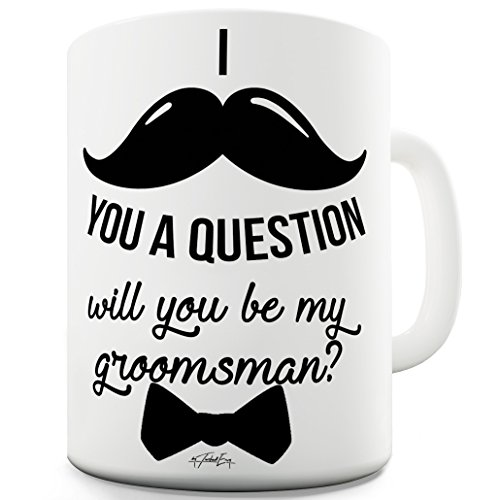 Twisted Envy Will You Be My Groomsman Ceramic Mug