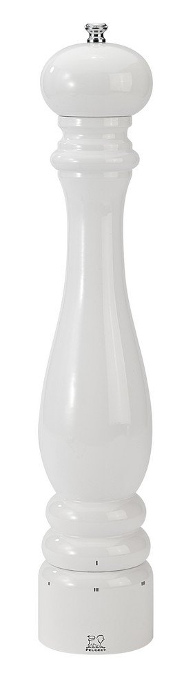 Peugeot 27865 Paris U'Select Pepper Mill, 16-Inch, White Lacquer