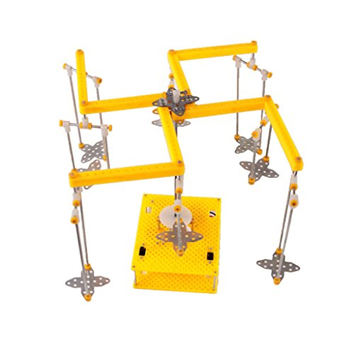 Baoblaze DIY Modèle Technologique de Carrousel Rotatif Électrique Jouet de Développement de la Capacité D'observation des Enfants