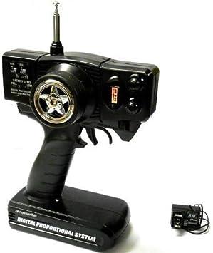 Radio Télécommande Rc Nitro /& Électrique Emetteur Récepteur 27mhz Am 2 Canaux