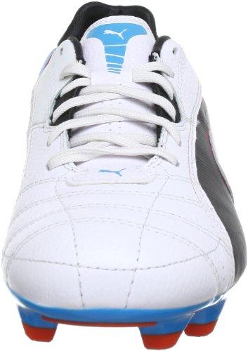 Puma Momentta FG - Botas de fútbol para hombre Weiß (metallic white-black-hawa 03) (Weiß (metallic white-black-hawa 03))