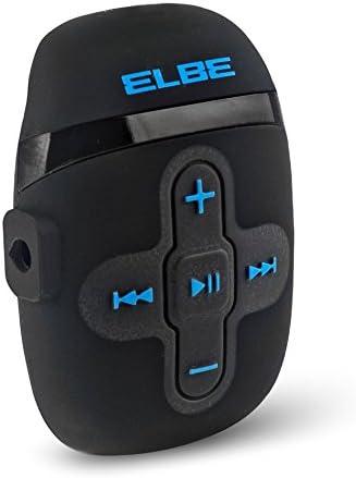 Elbe MP-118 - Reproductor MP3 4 GB Resistente al Agua, Color Negro: Amazon.es: Electrónica