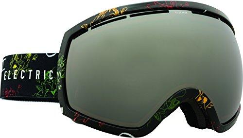 Eg2 Electric Goggles Snowboard (Electric Visual EG2 Cartoon Rasta/Bronze Silver Chrome Snow Goggle)
