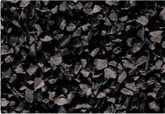 rockincolour Midnight Black 20kg decorativa de jardín (piedra