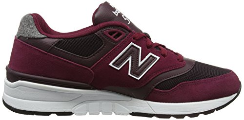 Nye Balance Mænds 597 Livsstil Mode Sneaker Sedona Rød / Supernova Rød 7RfzvBNKr