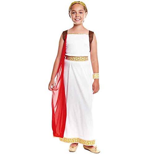 Disfraz Romana Laureada Niña Carnaval Históricos (Talla 5-6 años ...