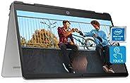 "HP Chromebook x360 14a 2-in-1 Laptop, Intel Pentium Silver N5000 Processor, 4 GB RAM, 64 GB eMMC, 14"" HD"