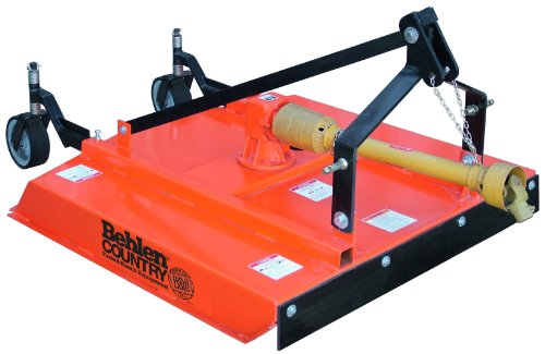 Behlen Country 80110030ORG Sub-Compact Rotary Cutter, 4-Feet (Rotary Brush Mower)