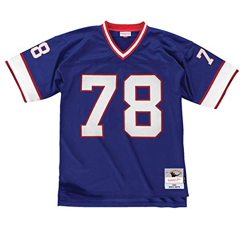 Bills Throwback Jersey - Mitchell & Ness Bruce Smith Buffalo Bills Throwback Jersey Blue (XX-Large)