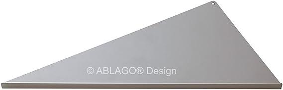 Winkel nachtr/äglich einbaubar nachr/üstbar Befliesbare Duschablage Typ WR3016 Edelstahl V2A//F