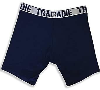 Tradie 3 Pack Long Leg Trunks (M, Navy)