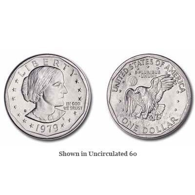 1979-S Susan B. Anthony Dollar