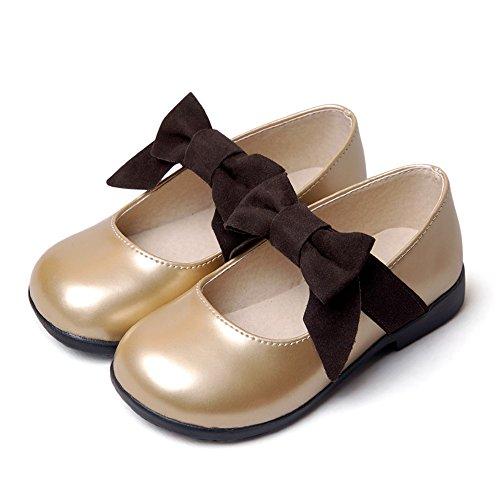 c5a9a0fa0aa4b HIMOE 女の子 ドレスシューズ フォーマルシューズ 子供フォーマル靴 キッズ 靴 軽量 リボン エナメル 結婚式