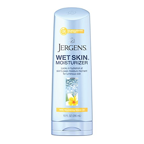 Monoi Shower (Jergens Wet Skin Body Moisturizer with Nourishing Monoi Oil, 10 Ounces)