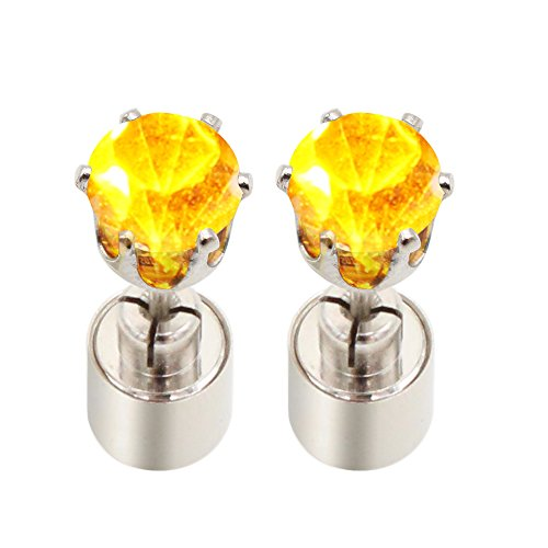 Led Earrings Glowing Light Up Diamond Crown Ear Drop Pendant Stud Stainless Bright Flashing Unique Earring for Party Christmas Hallowmas, Stylish Lighting Toys Dress Up Decoration Accessories Unisex