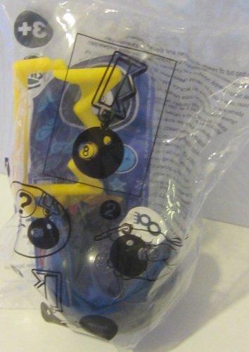 2012 Kids Meal Toy Mattel Game Magic 8 Eight Ball