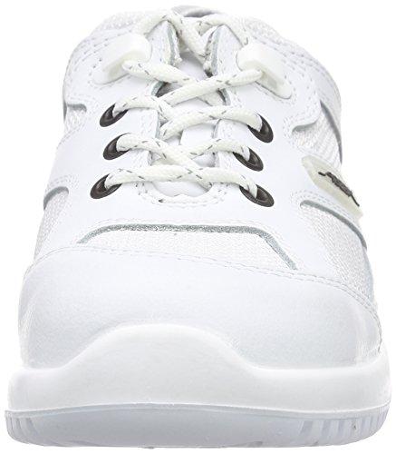 Proteq Sicherheitsschuhe Uni6 1720 Halbschuh S1 Stahlkappe, Scarpe Antinfortunistiche Unisex – Adulto Bianco (Bianco)