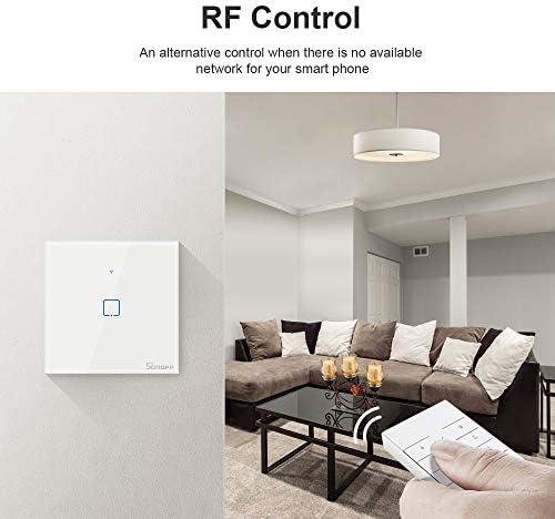 RFR3 433MHz Contr/ôle Commutateur,Module de Contr/ôle /à distance avec Alexa,Google Home,Nest,IFTTT,Fonction de Minuterie,Soutien Contr/ôle de LAN Interrupteur Intelligent Connect/é WiFi sans fils