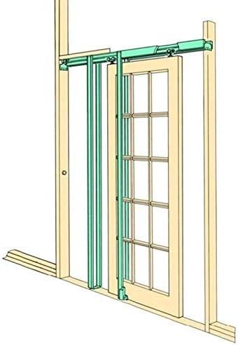 T-Mech Kit para Puertas Correderas Ocultas de Fácil Instalación ...