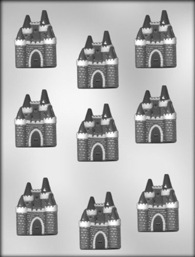 CK Products 2-Inch Castle Chocolate Mold