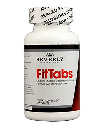 Beverly International Fit Tabs, 120 Tabl - Beverly International Vitamins Supplements Shopping Results