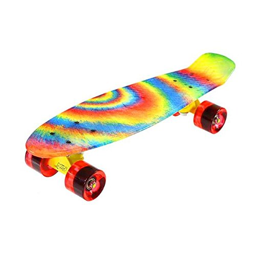 Nils Extreme - Skateboard colorato, Unisex, PENNYBOARD STREET ART, Joker NILS6|#Nils Extreme 16-3-113