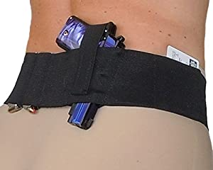3. Hidden Heat 3 - Women's and Men's Belly Band Concealed Carry Gun Holster