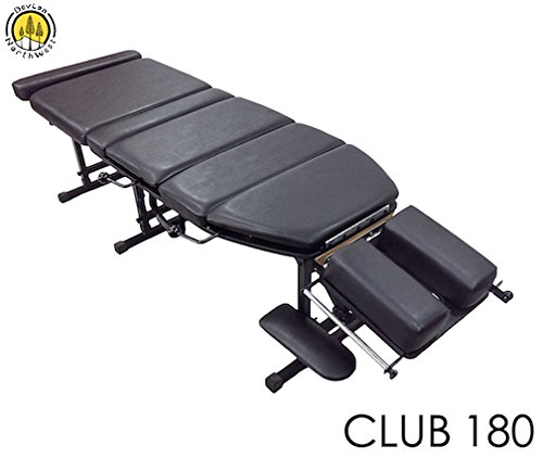 Portable Chiropractic Table Drops Height Adjustment Treatment Club 180 DevLon NorthWest Includes Paper Roll by DevLon NorthWest