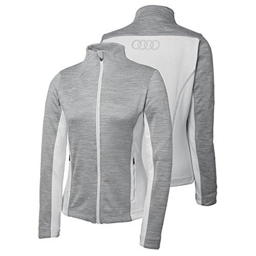 Genuine Audi Women's Ladies Performance Jacket - Gray- Size 2XL