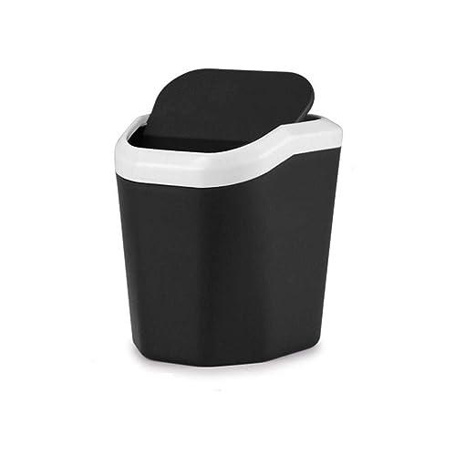 FAMILYA Nordic Mini Desktop Small Trash Can Home Pequeña Mesa de ...