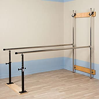 Amazon Com Wall Mounted Folding Parallel Bars For Physical Therapy Industrial Scientific
