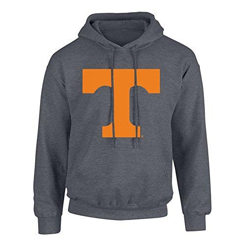 (Elite Fan Shop NCAA Men's Tennessee Volunteers Hoodie Sweatshirt Dark Heather Icon Tennessee Volunteers Dark Heather Medium)