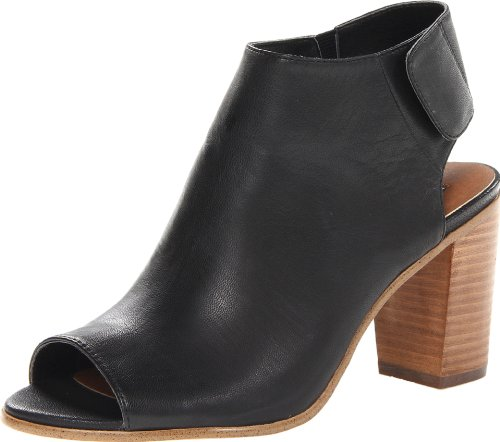 Steve Madden Women's Nonstp Bootie,Black Leather,7.5 M US