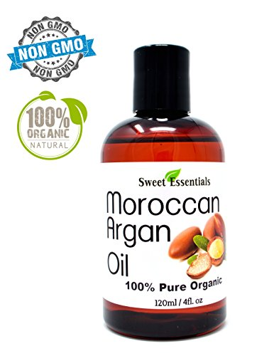 100% Pure Organic Moroccan Argan Oil -4oz- Imported from Mor