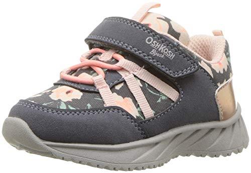 OshKosh B'Gosh Girls' Murray Sneaker, Floral, 7 M US Toddler