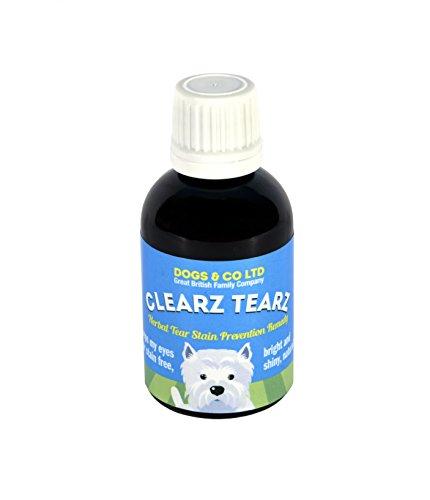 Clearz Tearz Futterzusatz, gegen tränende Augen, pflanzlich