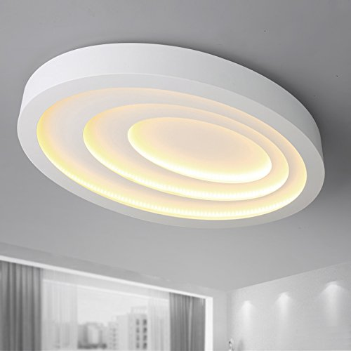 KHSKX Deckenleuchte,Nordic Runde Decke LED Lampe Ideen warme ...