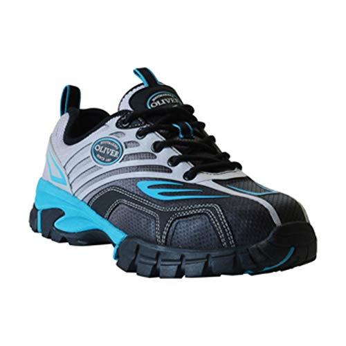 Slip Work Mesh Women's Toe Rubber Blue EVA Textile Resistant Composite Oliver 3'' Waterproof Sneakers qIxw66P0