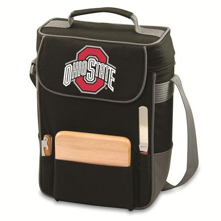 NCAA Ohio State Buckeyes Duet Insulated Wine and Cheese Tote with Team Logo