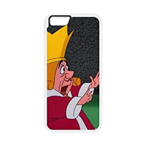 iphone6 4.7 inch Phone Case White Alice in Wonderland The King of Hearts CZL5844237