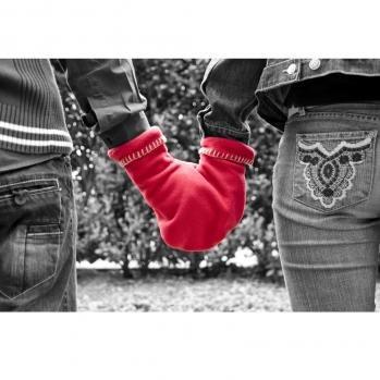 glovers, blau