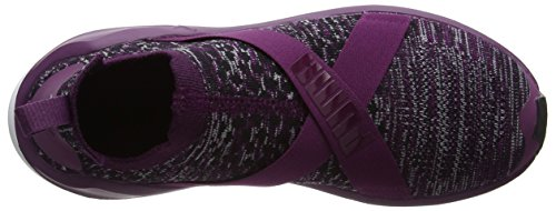 Dark Purple Chaussures Fierce Evoknit Violet de Femme Puma white Fitness fCWZqn