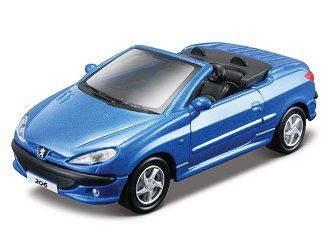 Peugeot 206 CC Diecast Model Car: Amazon.co.uk: Toys & Games